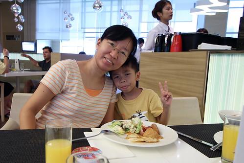 諾富特飯店吃早午餐