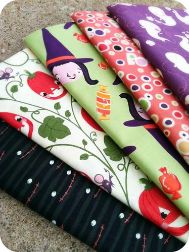 halloweeny fabrics.