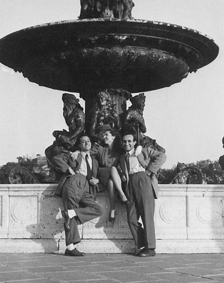 13g26 PGargallo Jaume Sunyer y Josep Palau i Fabre Paris Entre finales 1940 y inicios 1950 variante Uti 450
