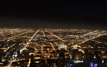 Endless City Lights - Chicago