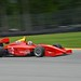 Giancarlo Serenelli takes to the course at Mid-Ohio