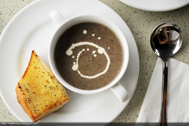 Changi Bistro - Mushroom Soup