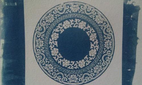 藍曬與青花瓷的異業結盟