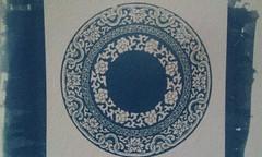 藍曬青花瓷