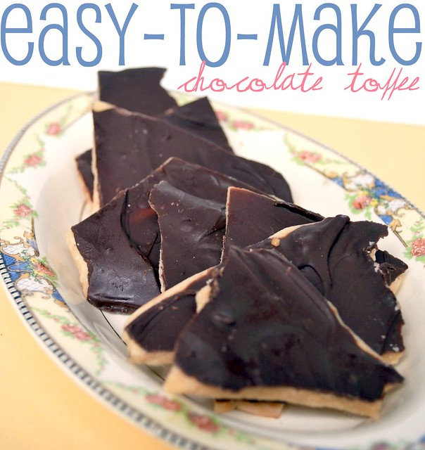 Easy-to-Make Chocolate Toffee