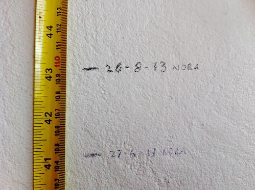 5 cm in 60 days