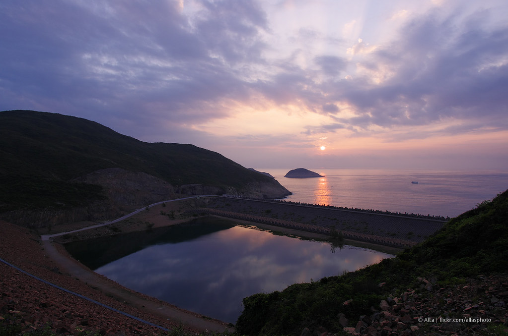 East Dam, High Island Reservoir, New Territories, Hong Kong