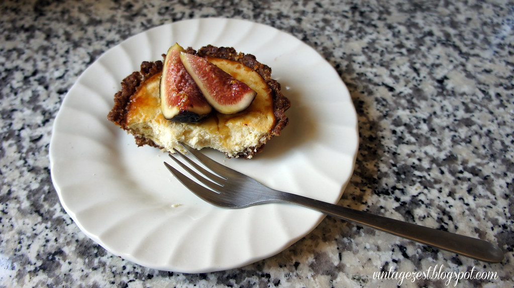 Fig & Honeyed Goat Cheese Tartlettes 2