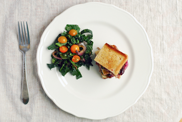 Grilled Cheese with Grape Jam from Food52