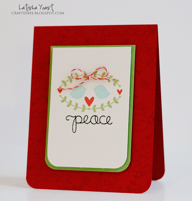 LawnFawn peacelovejoystampedcard latishay