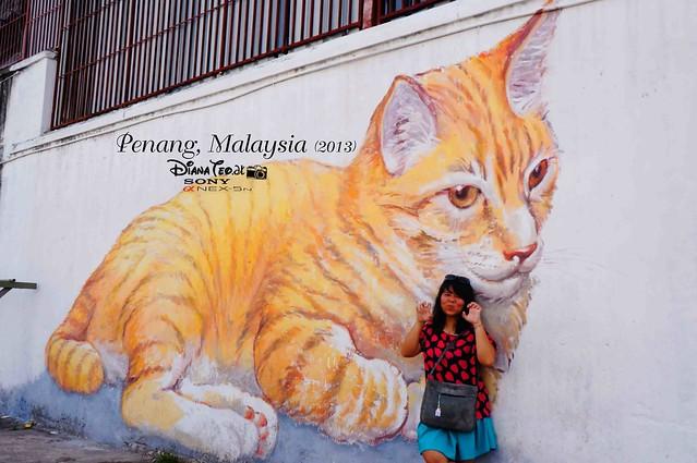 10. Penang's Art Street