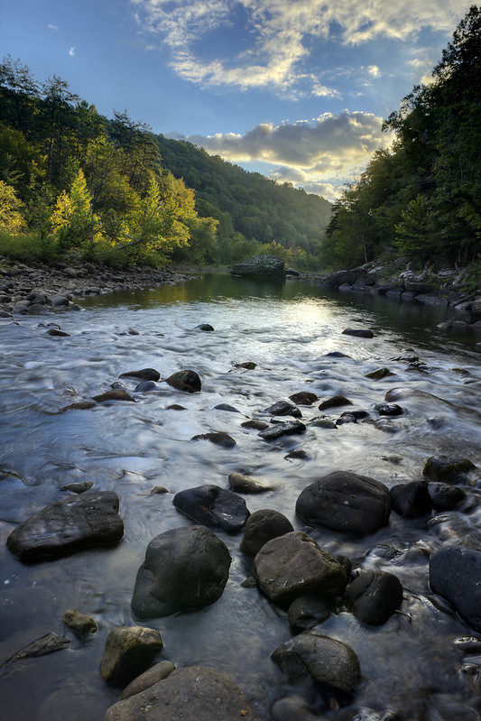 Caney Fork River, Bridgestone Firestone Centennial Wilderness WMA, White Co, TN