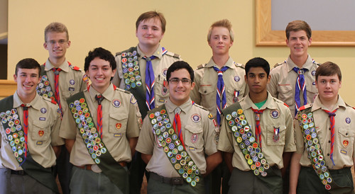 Troop 674 Eagle Scouts