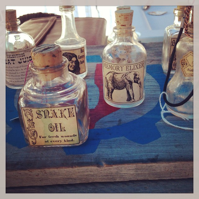 Snake oil or Memory Elixer anyone?