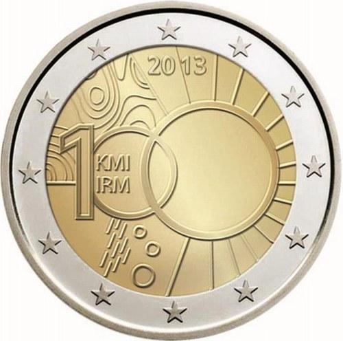 *2 Euro Belgicko 2013, 100. výročie založenia Kráľovského meteorologického ústavu