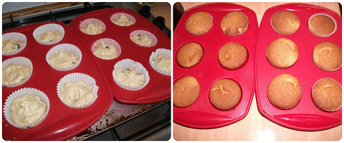 Cherry Almond Cupcakes Recipe 3