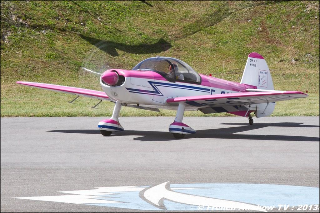 CAP 10 F-GAUH, Meribel Air Show 2013