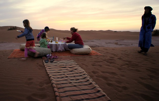 Luxury Desert Camp, Morocco
