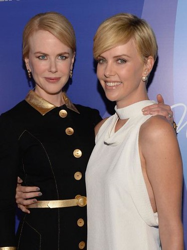 Charlize Theron and Nicole Kidman honored by Variety for charitable works
