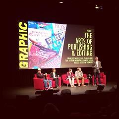 GRAPHIC panel: The arts of publishing & editing: Françoise Mouly, Luke Pearson, Sam Arthur, Len Wein & Leigh Rigozzi.
