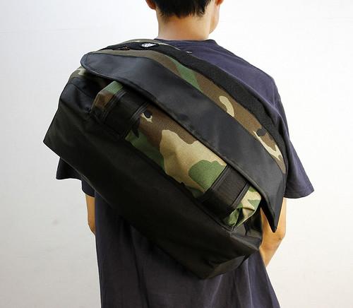 RIDEBAG / MESSENGER BAG (M) / WOOD LAND