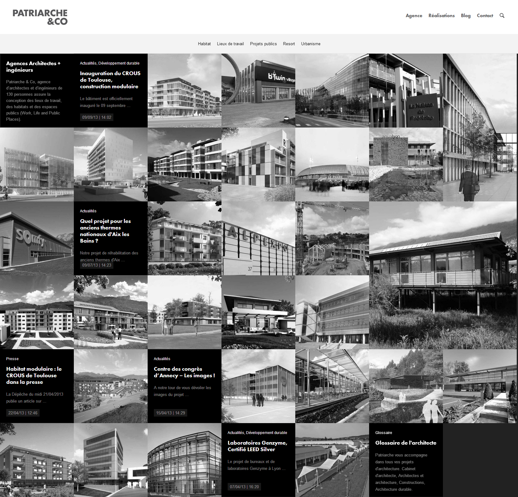 Patriarche - Clean Architecture Website For Your Inspiration