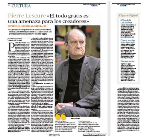 13j10 Entrevista Pierre Lescure