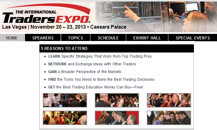 Traders Expo Las Vegas 2013