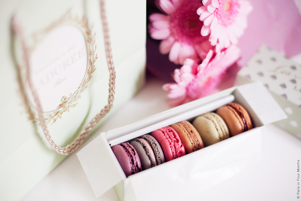 Ladurée Macarons by Carin Olsson (Paris in Four Months)