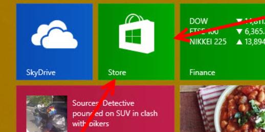Как открыть Windows Store