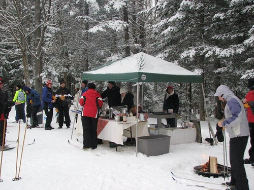 Nordic Nibbles at Eastman Cross Country