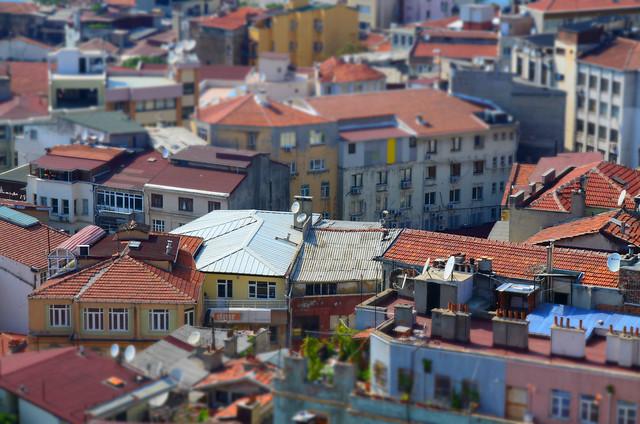 Terrazas de Estambul