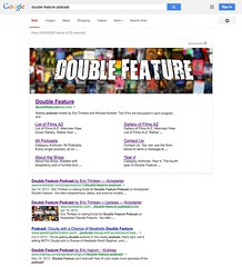 New Google Full Page Sponsored Banner Ads - Double Feature