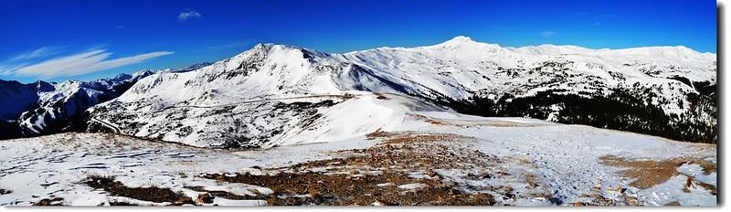 Loveland Pass  遠眺南、西、北向 1