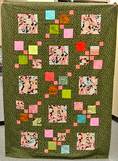 Betsy's Charm Pack Split Nine Patch Quilt