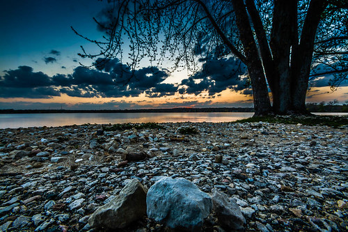 sunset lake illinois unitedstates mchenry mccullomlake