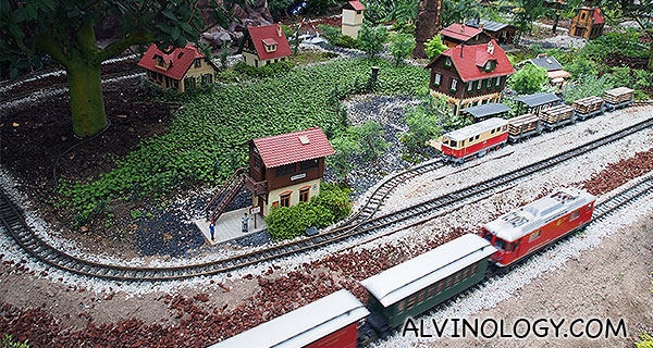 Then, he asked me if I can buy the train set for him...