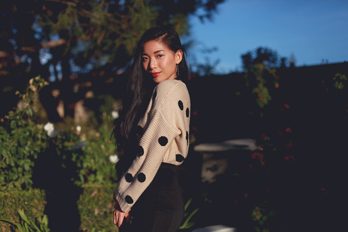 Stephanie Liu of Honey & Silk sharing Holiday Soiree Style with Lulu*s