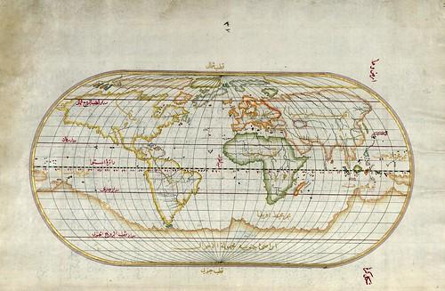 016-Planisferio-fol 41a-W.658, LIBRO DE NAVEGACIÓN -The Digital Walters