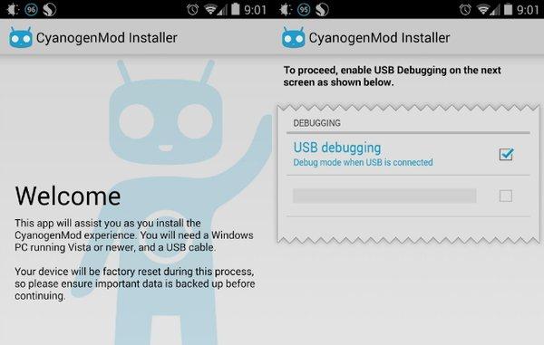 CyanogenMod Installer удален
