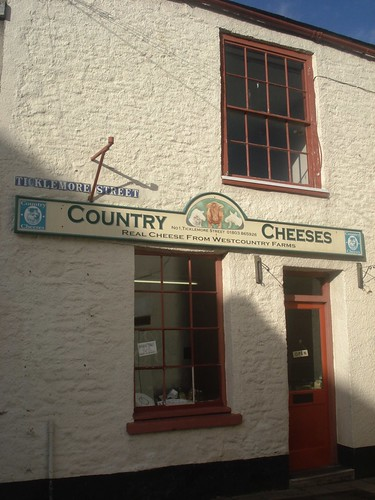 5. Ticklemore cheese