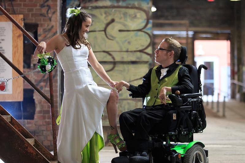 Access-a-wedding as seen on @offbeatbride