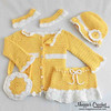 Sunny Days Ensemble Crochet Pattern PA943 by maggiescrochet