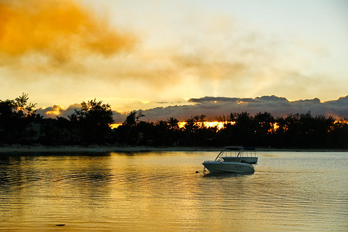 Sunset @ Ambre Resort, Mauritius!!!