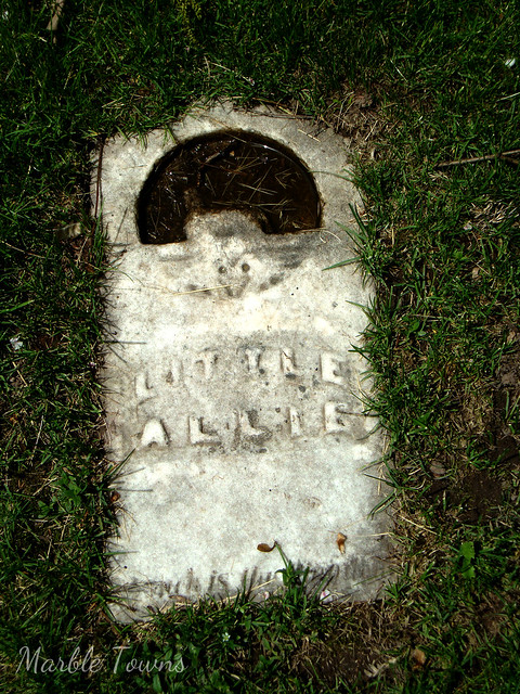 Woodlawn Cem-Green Bay-Little Allie.JPG