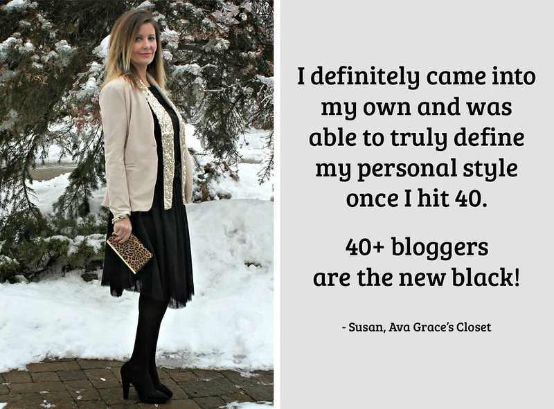 Susan, Ava Grace's Closet on being a 40+ fashion blogger