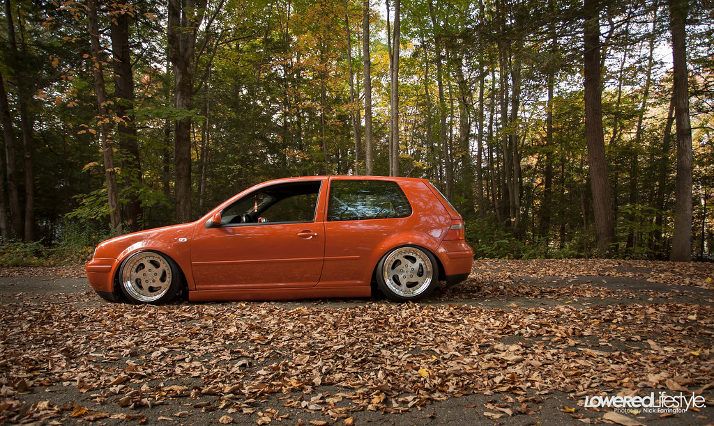 Vwvortex Com Fs 00 Tropic Orange 12 Vr6 Gti Shaved Bay