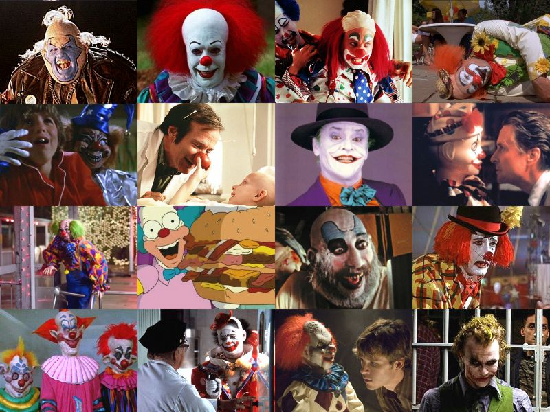 Movies with Clowns Quiz - By hellofromUK