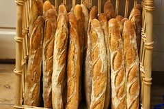 baking, bread, baked goods, food, baguette,