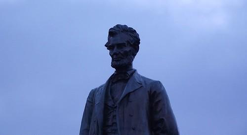 thoughtful Abe